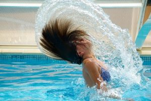 swimming with menstrual cup
