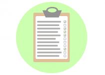checklist pregnancy