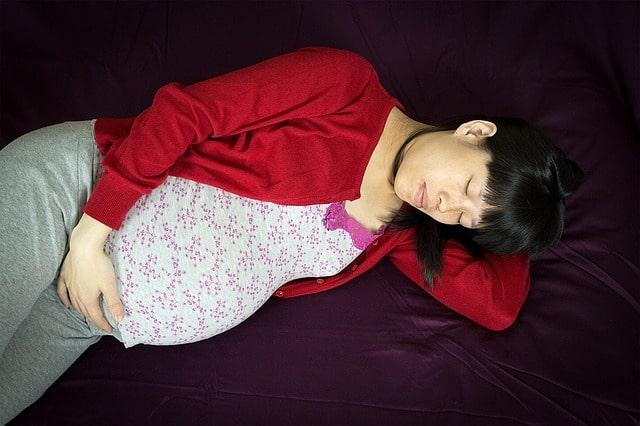 pregnancy sleeping